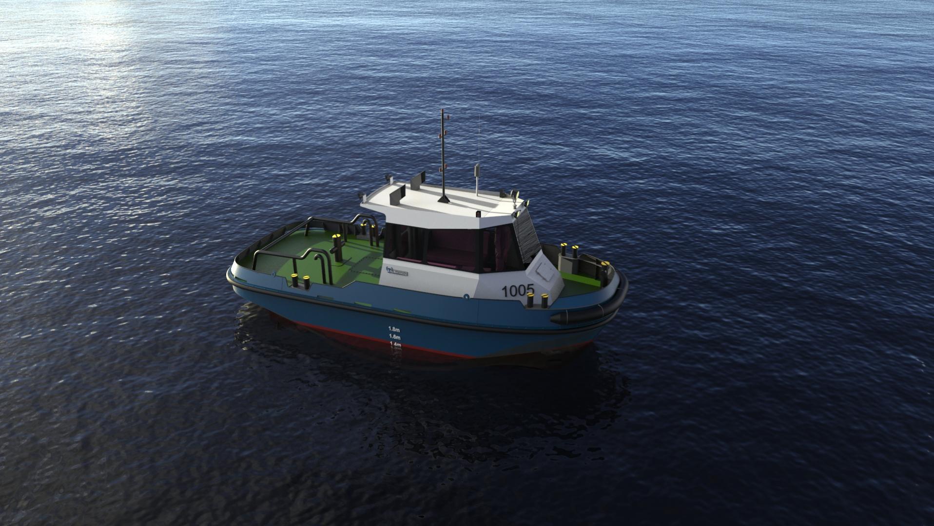 10m/5 TBP Mooring Boat