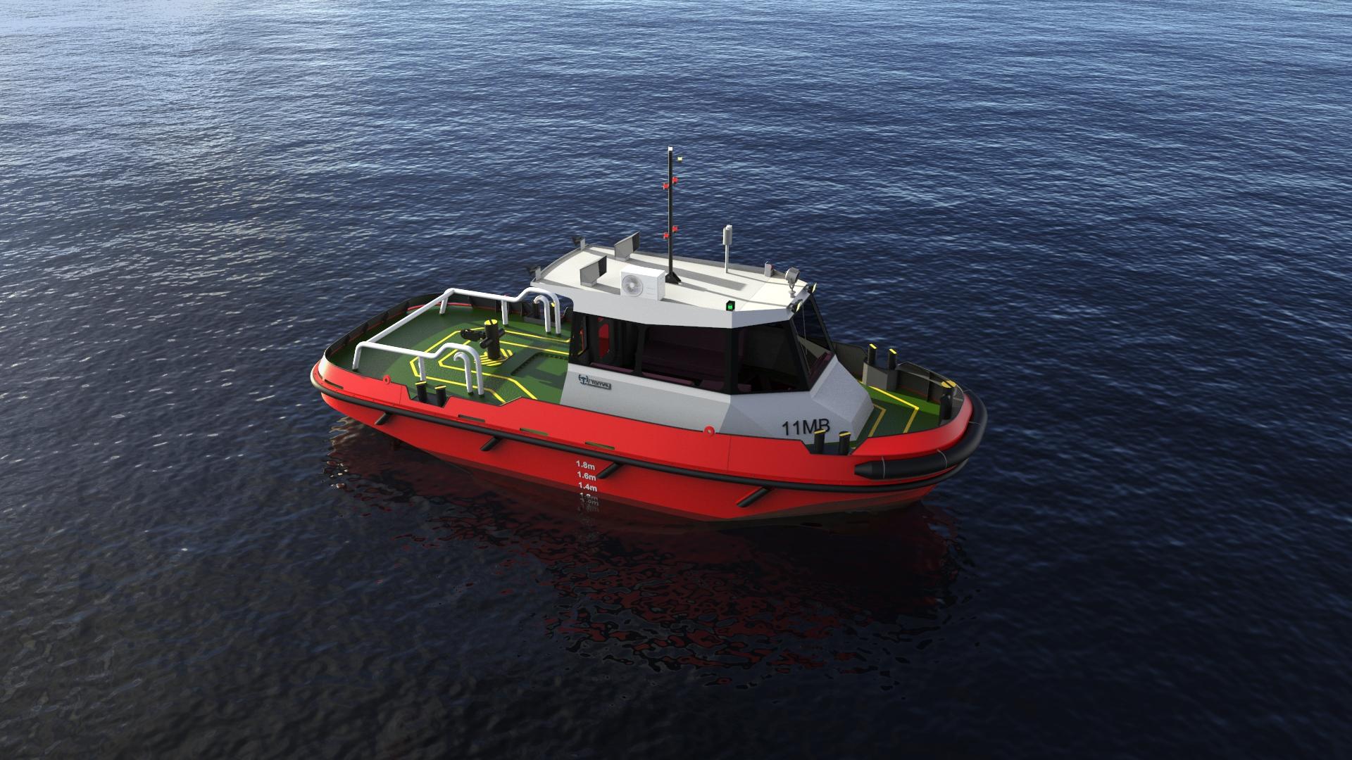 11m Mooring Boat