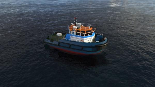 18m/15 TBP Mooring Boat