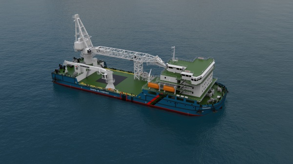 SELF PROPELLED HEAVY LIFT ACCOMMODATION BARGE